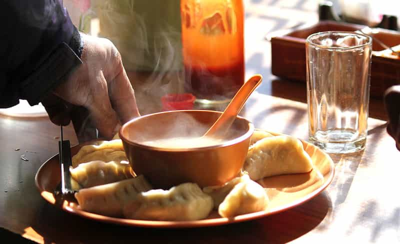 Momos are a local delicacy in Ladakh