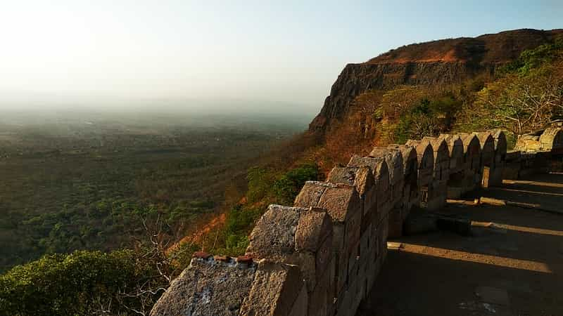 Trek up to the Pavagadh Hill