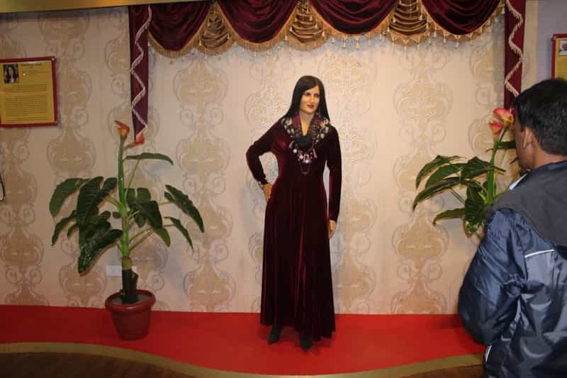 The wax museum in Mahabaleshwar