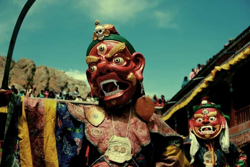 A Local Festival In Ladakh