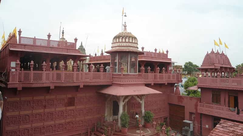 The Shri Digamber Jain Temple
