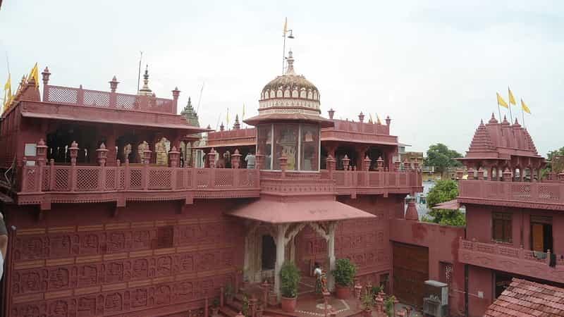 The Shri Digamber Jain Temple