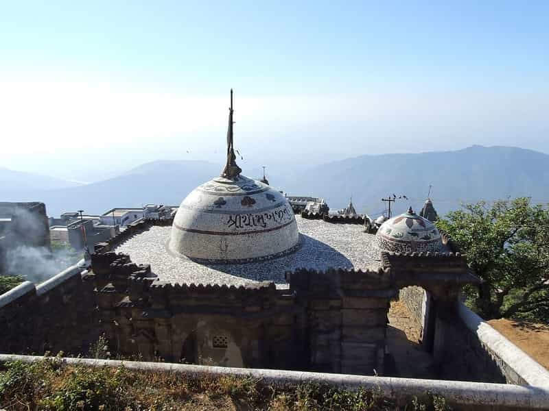 A Jain Temple on Girnar Hill