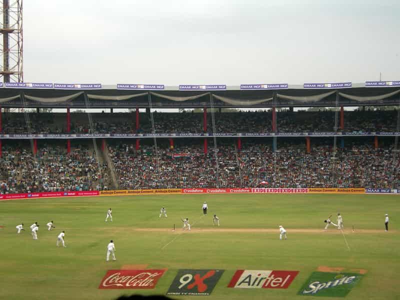 The M Chinnaswamy Stadium