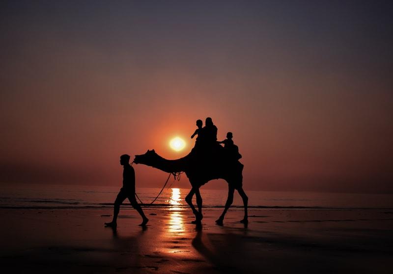 Dumas Beach in Surat