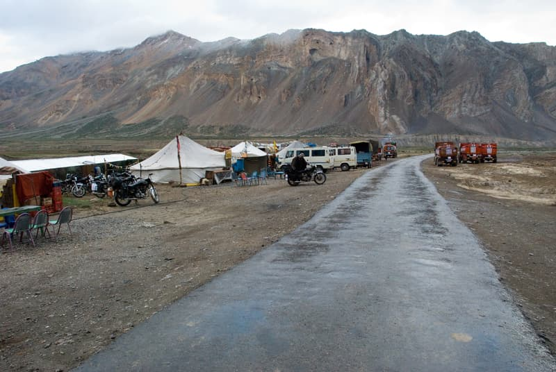 Road from Sarchu to Manali