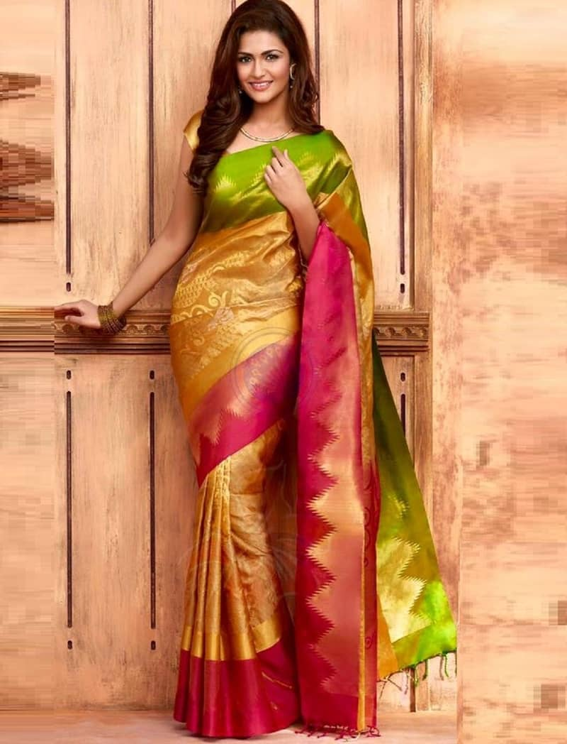 Silk saree shopping in surat