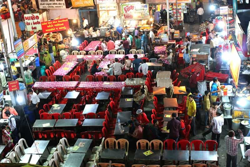 Street Food at Manek Chowk