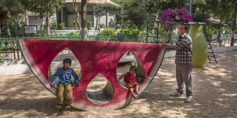 Kids Enjoying at Chacha Nehru Bal Vatika