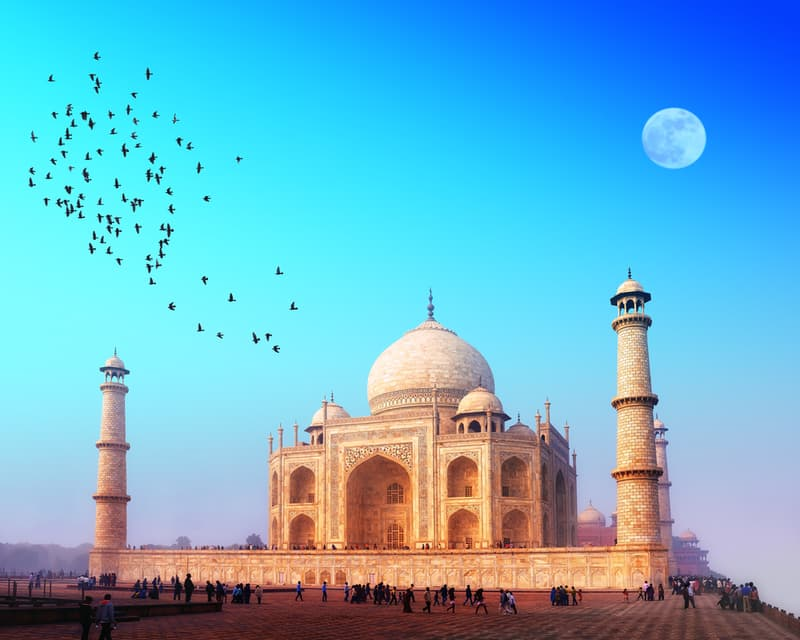 Taj Mahal- One of the seven wonders of the world