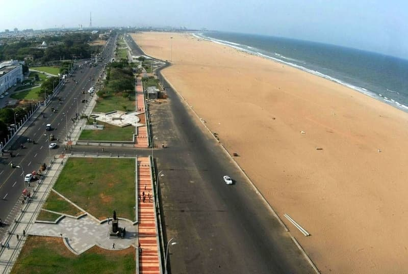 Drive by Bay of Bengal