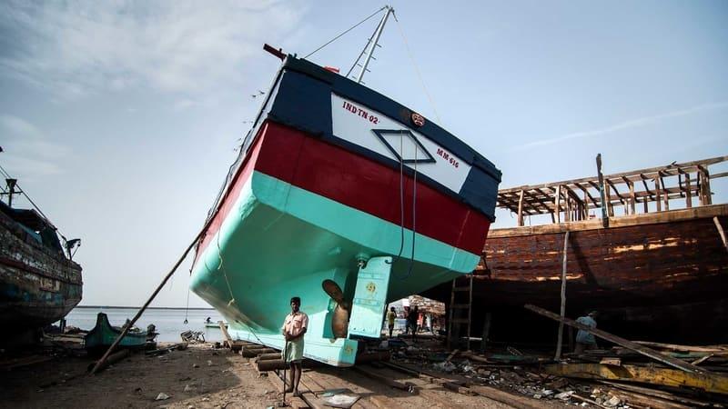 Royapuram Fishing Harbour