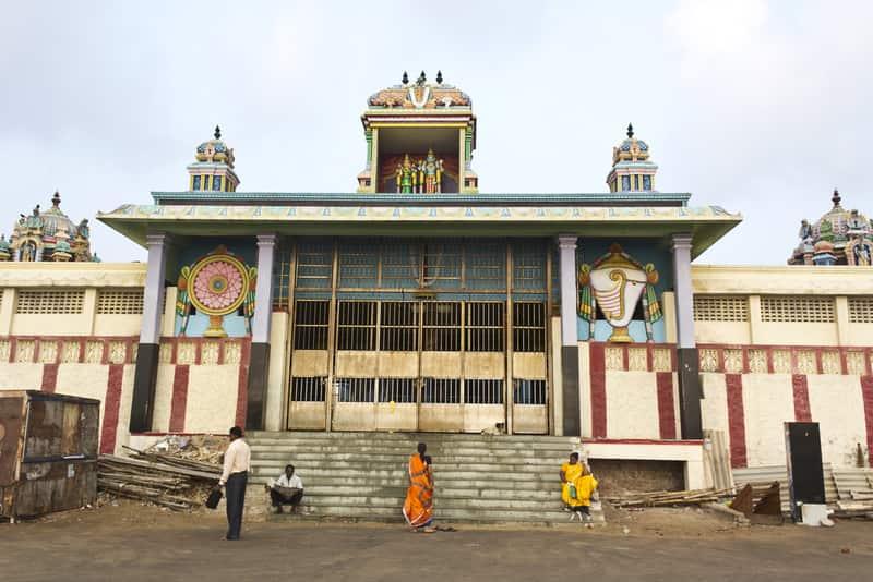 Temple in Besant Nagar