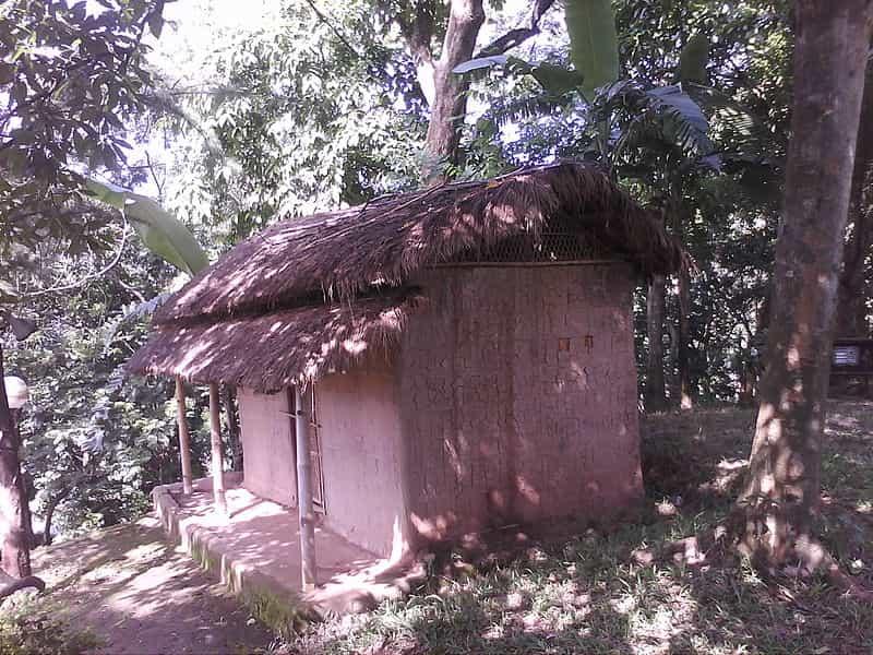 A hut inside Shrimanta Shankaradeva Kalakshetra, Guwahati