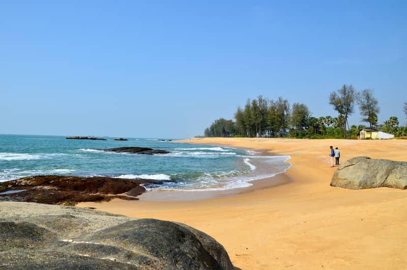 Rocky beach of Someshwar, Mangalore