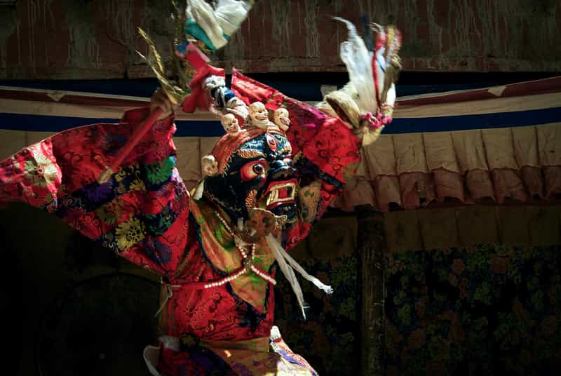 The colourful and enthralling Tibetan dance, music and opera captivate every audience member.