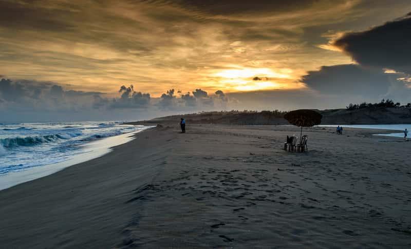 Puri beach, Odisha