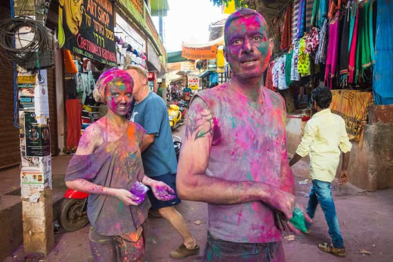 Holi in Goa