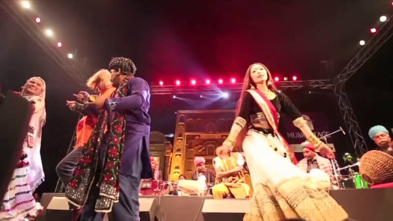 Music Performance at Jaipur Literature Festival