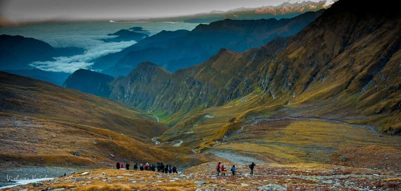 Roopkund Lake in India