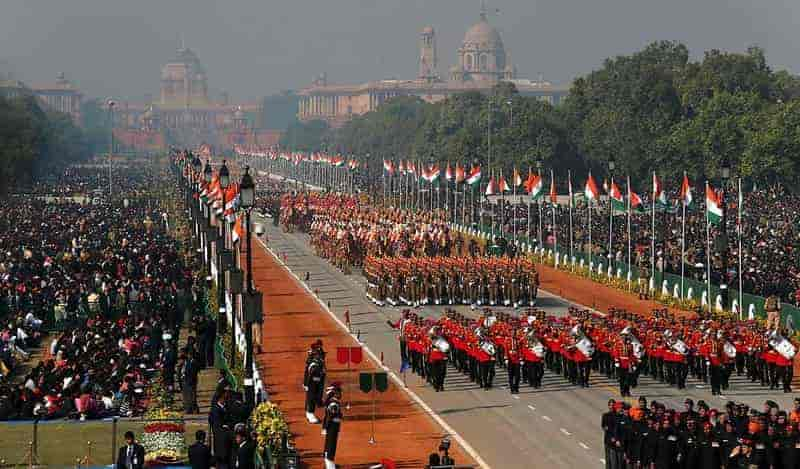 Republic Day Parade in Delhi
