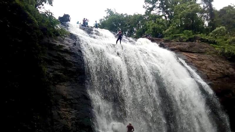 Adventure Sports at Vihigaon Waterfall