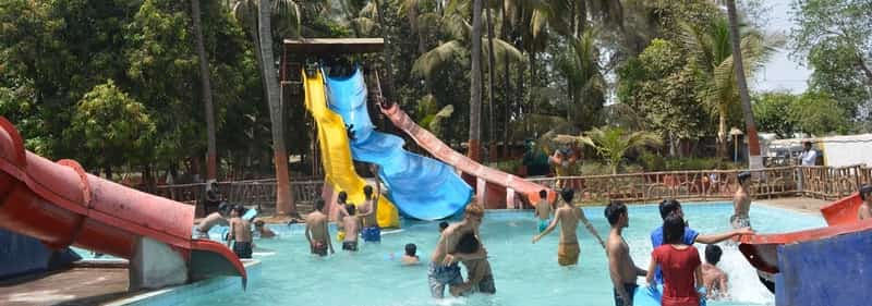 Ammu Water Park also provides accommodation