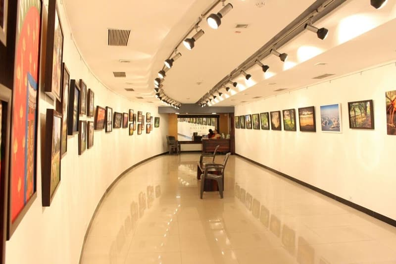 By far the most well-known art gallery in Mumbai