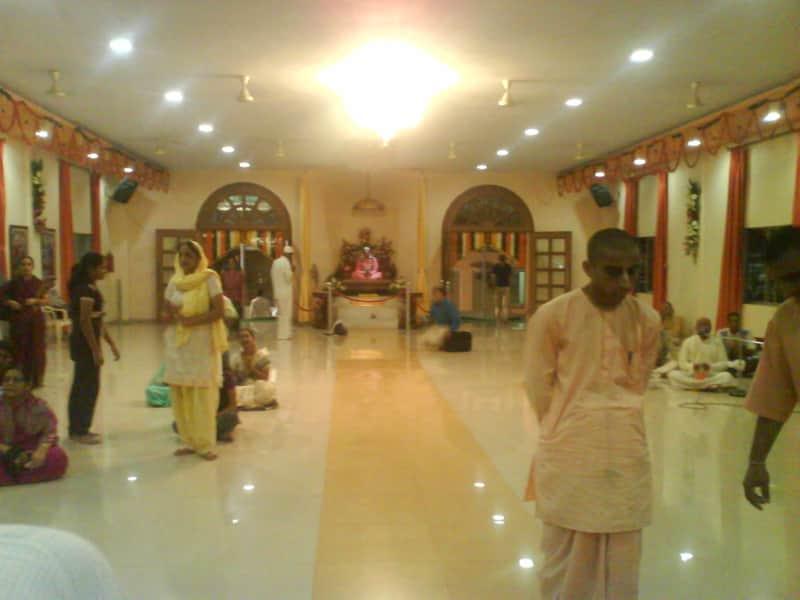 Devotees at the ISKCON Kharghar