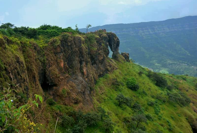 Elephant's Head Point at Mahabaleshwar