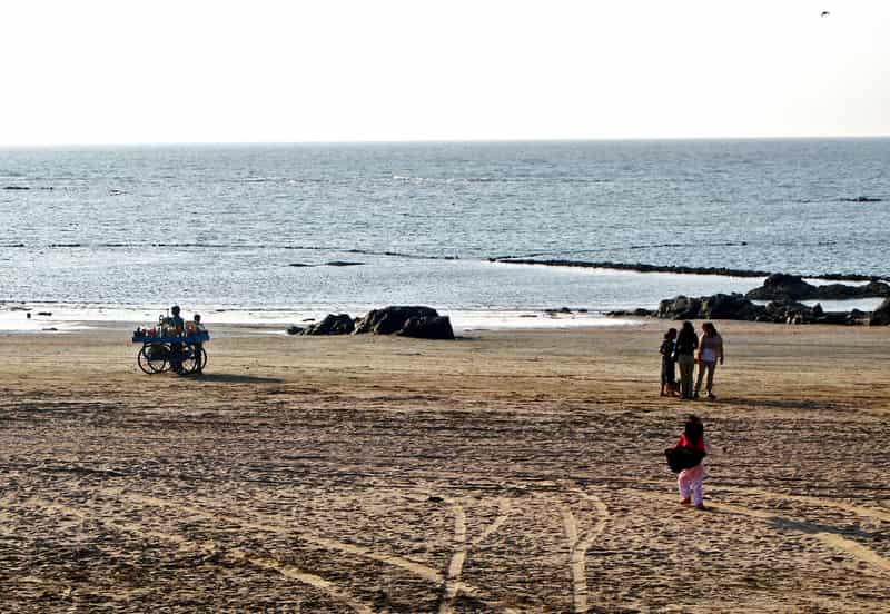 Enjoy a day at the pristine Manori Beach