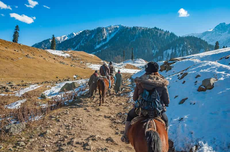 Horse Riding, Kashmir