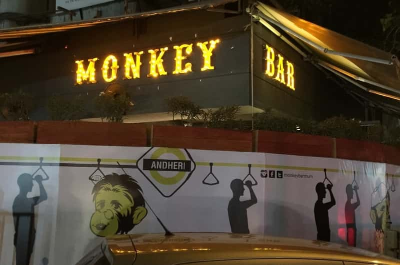 Monkey Bar in Bandra