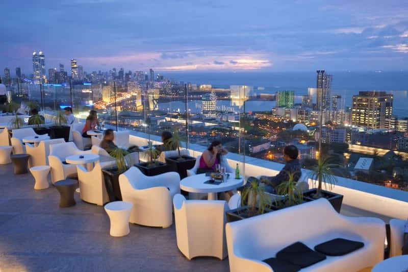 Offers the best view of Mumbai