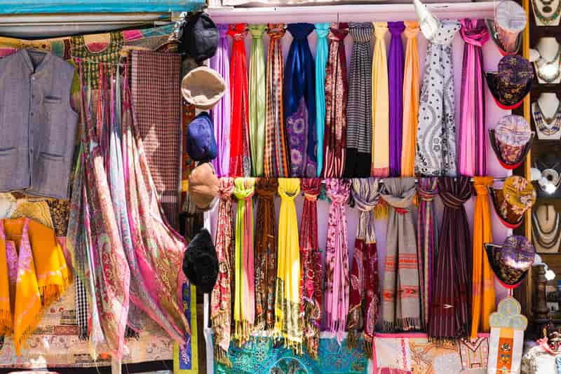 Shopping in Kashmir