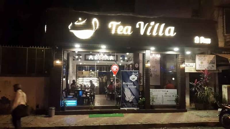 Tea Villa Cafe has a wide selection of teas