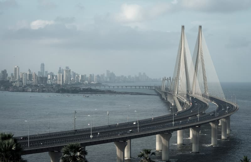 The Bandra-Worli Sea Link is an architectural marvel