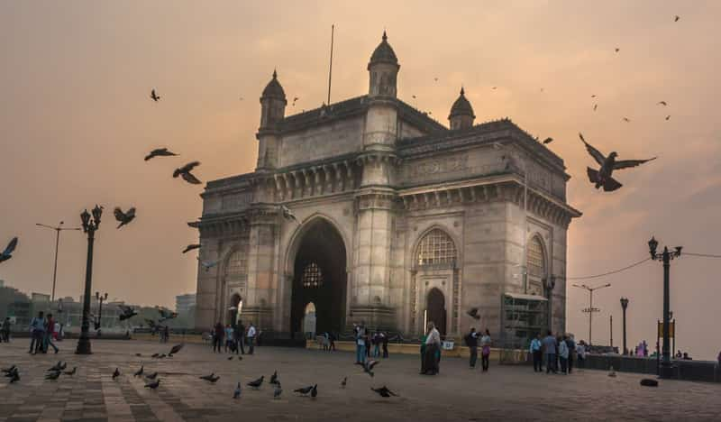 The Gateway of India is one of the country's most famous monuments