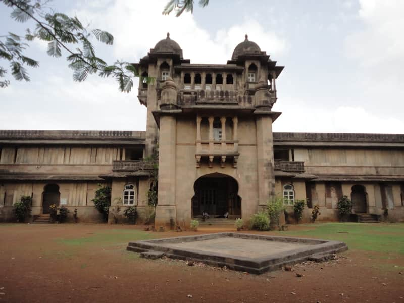 The Jai Vilas Palace is a must-see in Jawhar