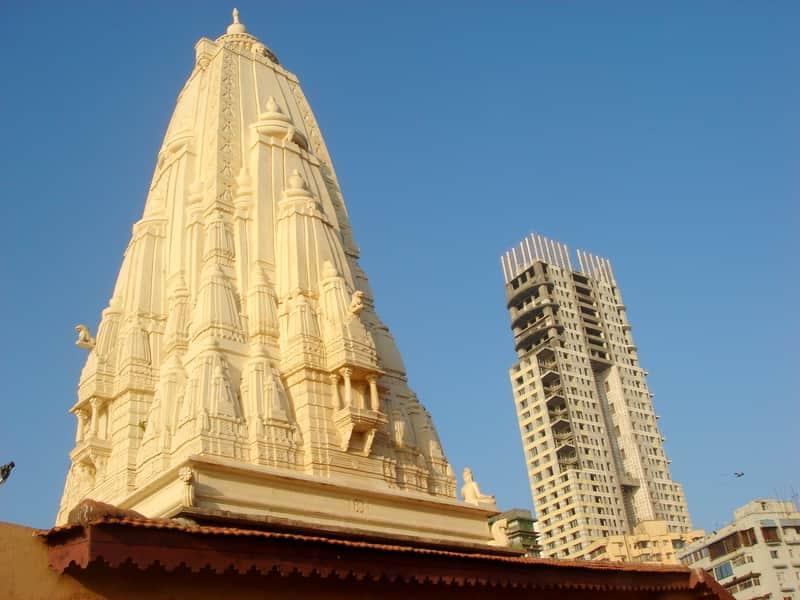 The Walkeshwar temple at Malabar hill