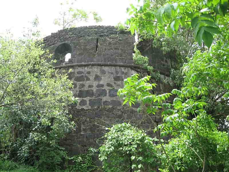 The remains of the fort