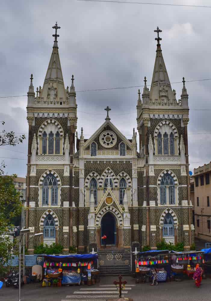 This beautiful church is visited by devotees of all faiths