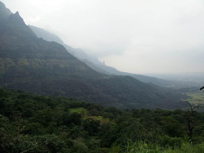 Trek up to the Harishchandragad Fort