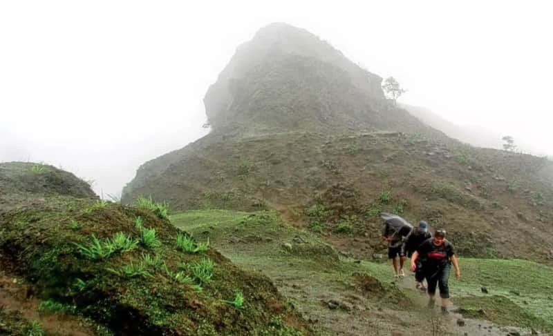 Trekking at Jungli Jaigad