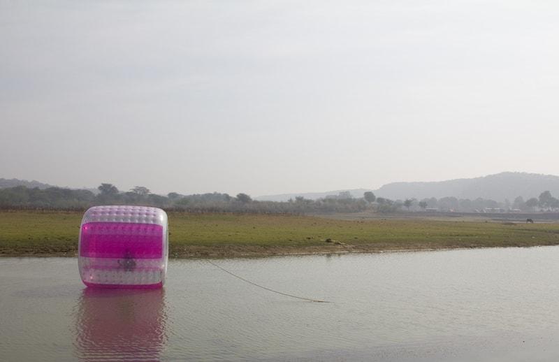 Balloon Ride on the Damdama Lake