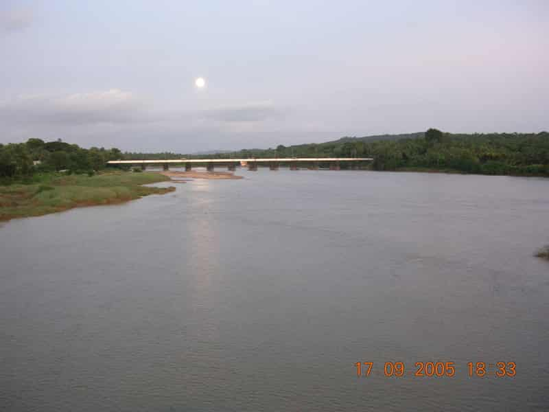 Bharatapuzha River near Shoranur
