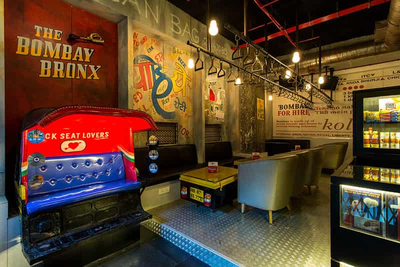 Bombay Bronx is a great place to get into the groove