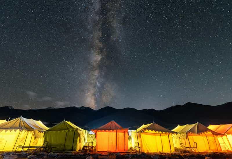 Camp Kyari, Syat, Nainital