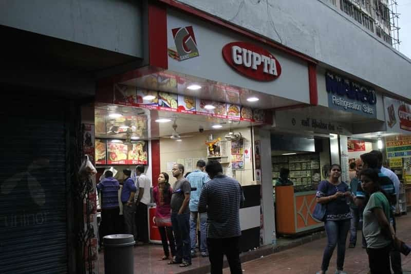 Gupta Sandwich offers Indian chaat as well as pizzas