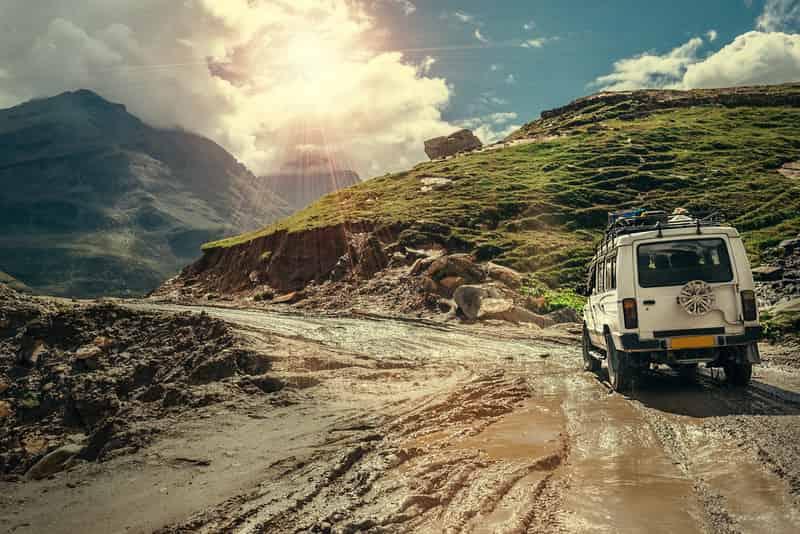 Jeep Safari in Ladakh